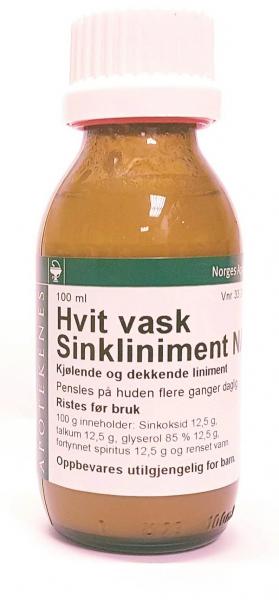 Bilde av Hvit vask - sinkliniment naf 100 ml