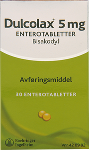 Bilde av DULCOLAX 5MG 30 TABLETTER