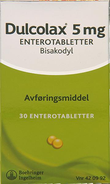 Bilde av Dulcolax 5 mg 30 tabletter