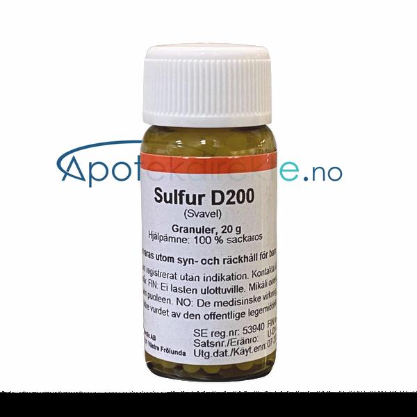 Bilde av Sulfur D200 20 gram piller