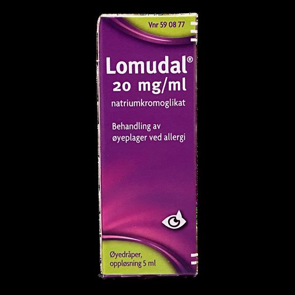 Bilde av Lomudal øyedråper 20 mg/ml 5 ml