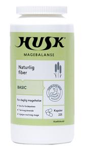 Bilde av HUSK NATURLIG FIBER BASIC KAPS 225 STK