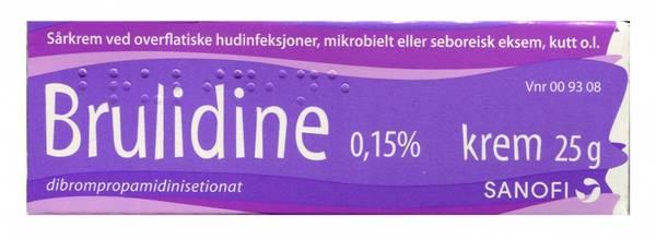 Bilde av Brulidine krem 0,15 % 25 gram