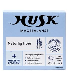 Bilde av HUSK NATURLIG FIBER MELKESYREBAKTERIER 28 X 5G