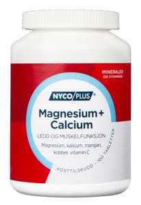 Bilde av NYCOPLUS MAGNESIUM + CALCIUM 100 TABLETTER