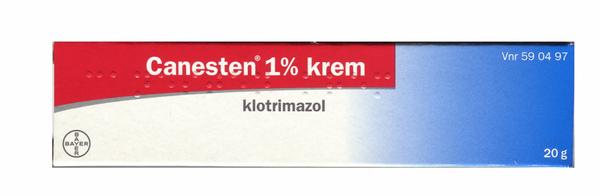 Bilde av Canesten krem 1% 20 gram