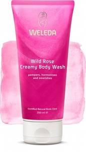 Bilde av WELEDA WILD ROSE CREAMY BODY WASH 200 ML