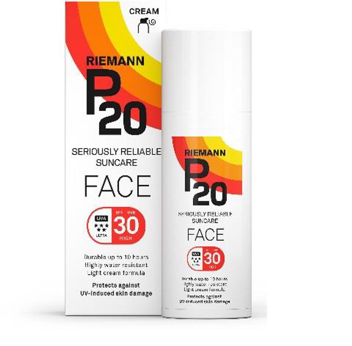 P20 face f30 50 ml