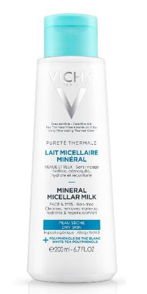 Bilde av Vichy pt micellar milk dry skin 200 ml