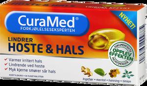 Bilde av CURAMED HOSTE & HALS RØD 20 STK