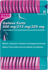 Bilde av GALIEVE FORTE MIKS PEPPERMYNTE 12x10 ML