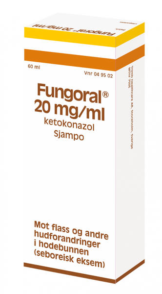 Bilde av Fungoral sjampo 20 mg/ml 60 ml