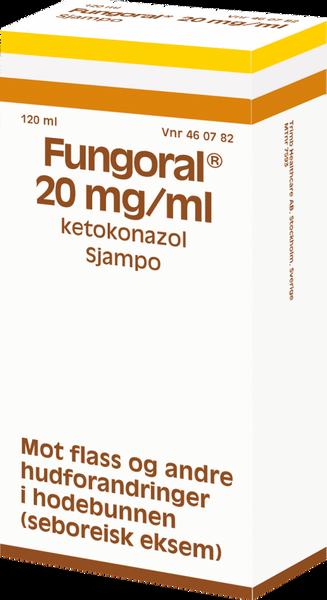 Bilde av Fungoral sjampo 20 mg/ml 120 ml