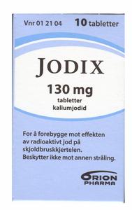 Bilde av JODIX 130MG 10 TABLETTER