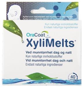 Bilde av XYLIMELTS MUNNTØRRHET DAG & NATT 40 TABLETTER