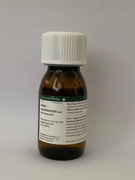 Bilde av Hånddesinfeksjon naf 50 ml