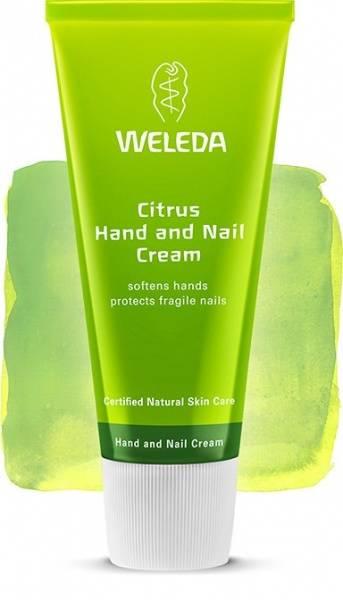 Bilde av Weleda citrus hand and nail cream 50 ml