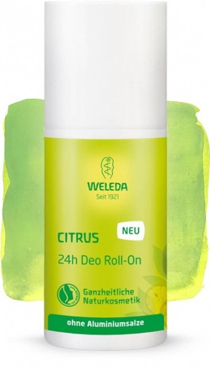 Weleda deodorant citrus 24h roll-on 50 ml