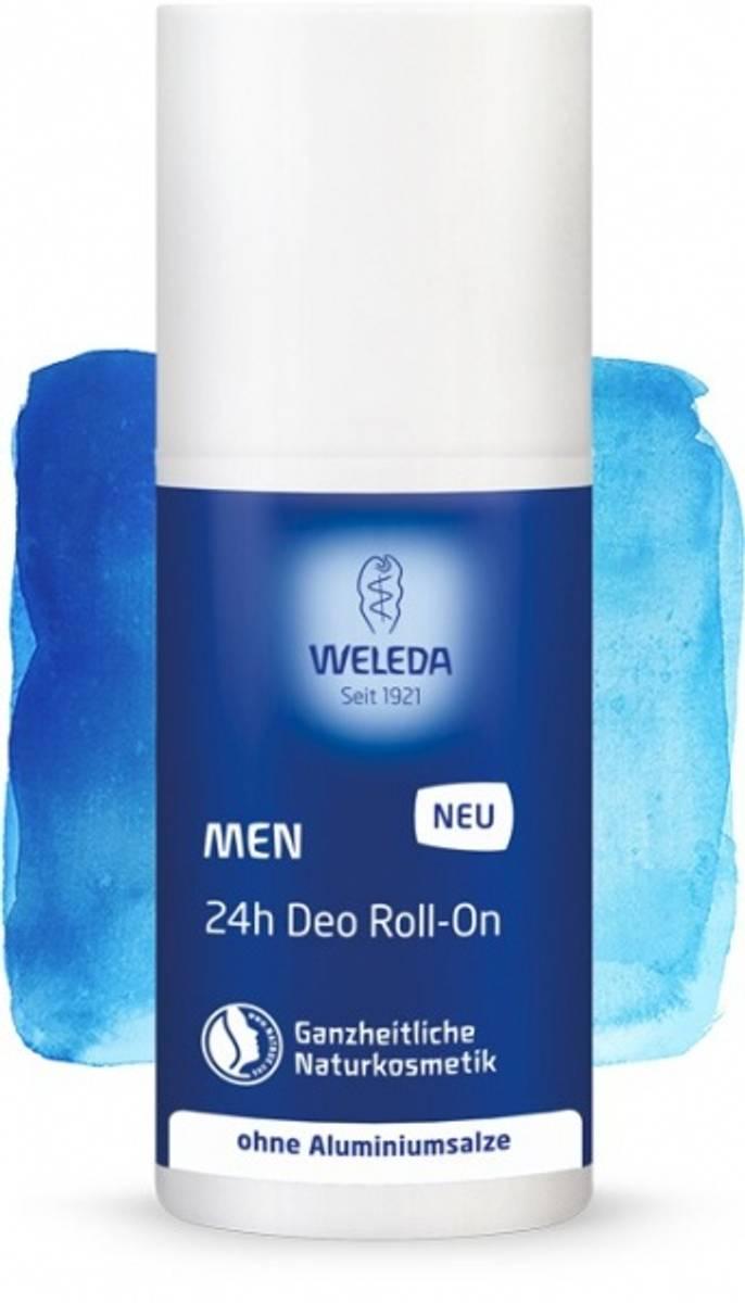 Weleda deodorant men 24h roll-on 50 ml