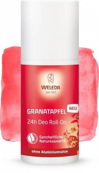 Bilde av Weleda deodorant pomegranate 24h roll-on 50 ml