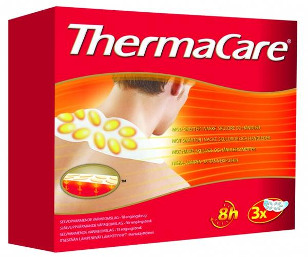 Bilde av Thermacare varmepakning nakke/skuldre 3 stk