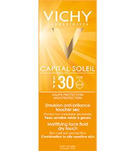 Bilde av VICHY IDEAL SOLEIL DRY TOUCH ANSIKT F30 50 ML