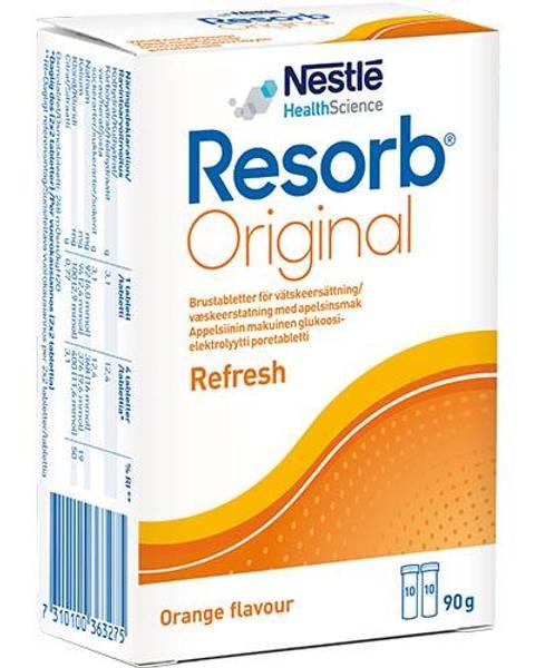 Bilde av Resorb Original væskeerstatning appelsin 2 x 10