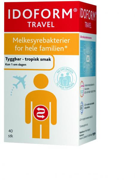 Bilde av Idoform travel 40 tabletter