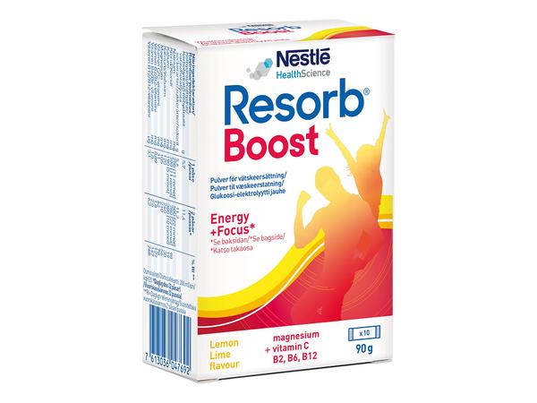 Bilde av Resorb boost væskeerstatning 10 doseposer