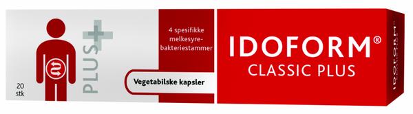 Bilde av Idoform classic plus 20 kapsler