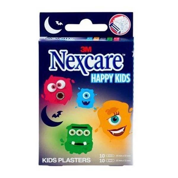 Bilde av Nexcare kids plaster monster 20 stk