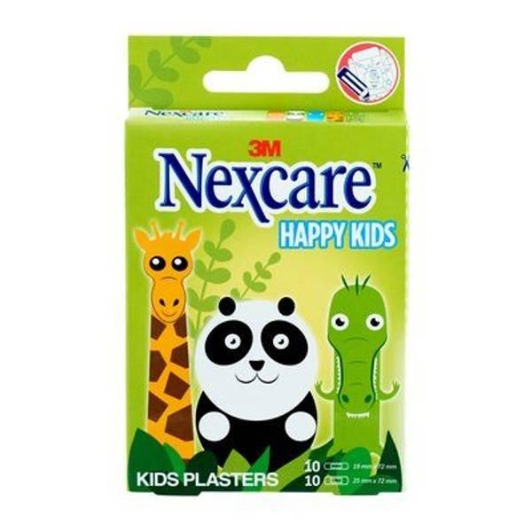 Bilde av Nexcare kids plaster animals 20 stk