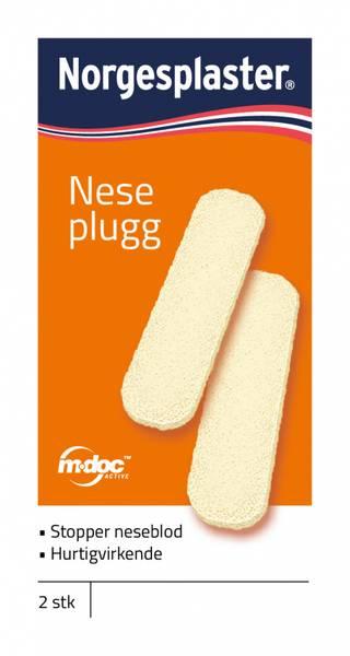 Bilde av Norgesplaster nese plugg 2 stk