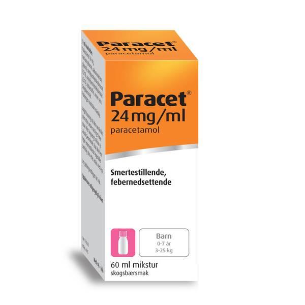 Bilde av Paracet mikstur 24 mg/ml 60 ml