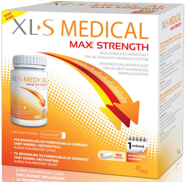 Bilde av XL-S Medical max srength 120 kapsler