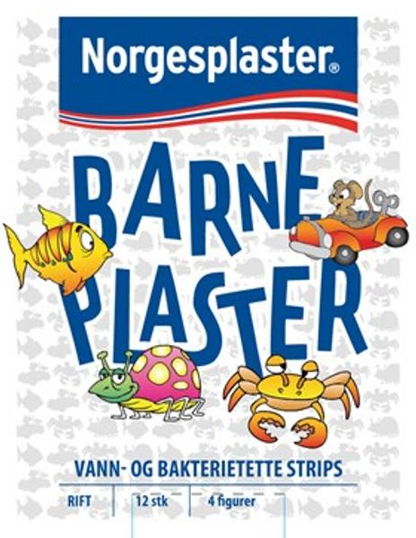 Bilde av Norgesplaster barneplaster 12 stk