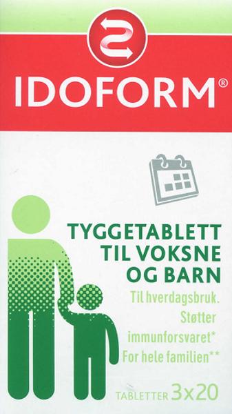 Bilde av Idoform tyggetabletter 60 stk