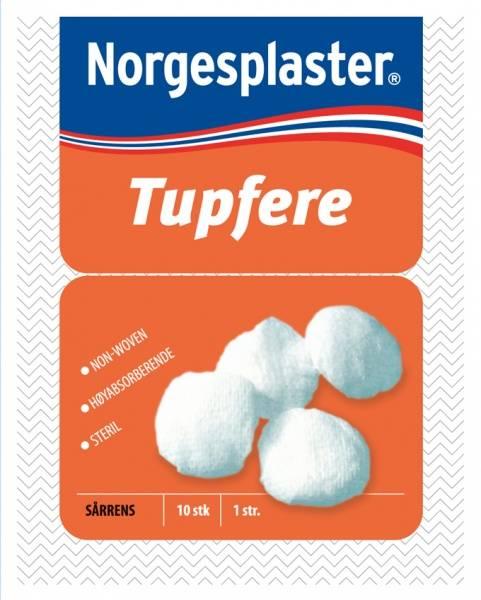 Bilde av Norgesplaster steril tupfere 10 stk