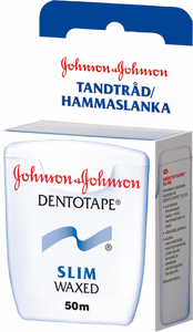 Bilde av JOHNSON & JOHNSON DENTOTAPE SLIM 50 METER