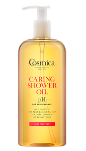 Bilde av COSMICA CARING SHOWER OIL U/PARF 400 ML
