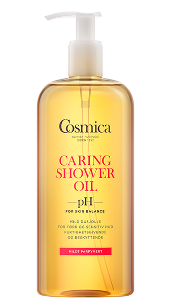 Bilde av Cosmica caring shower oil u/parf 400 ml