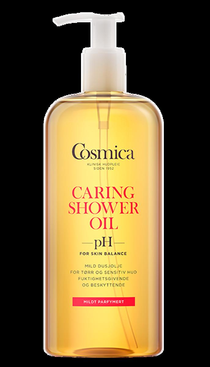 Cosmica caring shower oil u/parf 400 ml