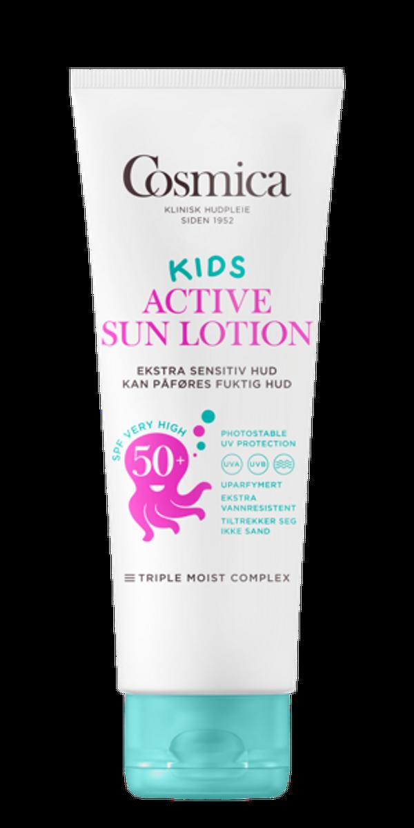 Cosmica sun kids active lot f50+ u/p 250 ml