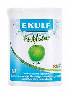 Bilde av EKULF FUKTISAR APPLE 30 TABLETTER