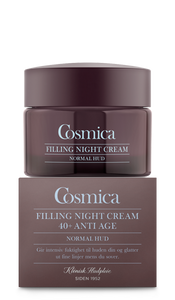 Bilde av COSMICA FACE ANTI AGE 40+ FILLING NIGHT CREAM NORMAL 50 ML