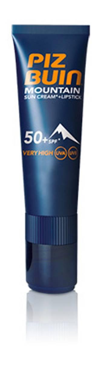 Piz buin mountain comb face & lipstick f50 20 ml