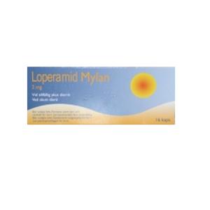 Bilde av LOPERAMID MYLAN 2MG 16 KAPSLER