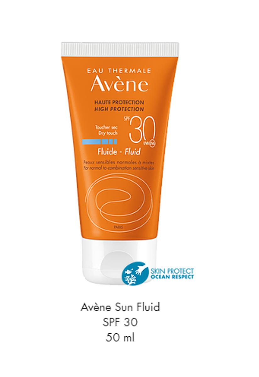 Avene sun face fluid clean f30 50 ml