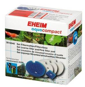 Bilde av EHEIM hvite/blå filtermatter
