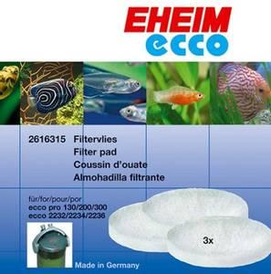 Bilde av EHEIM hvite filtermatter til Ecco Pro